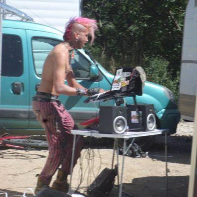 Skardeche festival (parking) ardeche 2016
